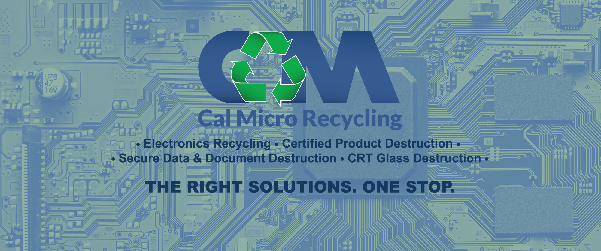 Electronics Recycling Cal Micro We Recycle The Following And Much More